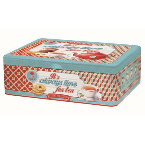 Caja Metal para Té/Infusiones - Always Time
